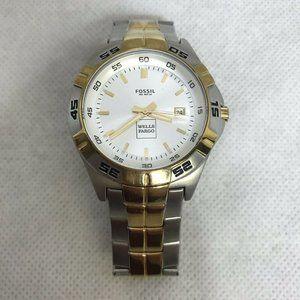 Fossil PR-5340 Wells Fargo Wristwatch 2 Tone